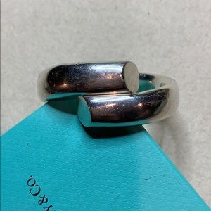 Tiffany & Co Elsa Peretti Sterling Cuff Bracelet